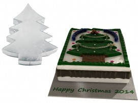 Christmas Tree  Shape Novelty Cake Tin Baking Pan Birthday