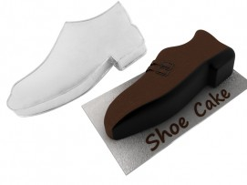 Shoe  Shape Novelty Cake Tin Baking Pan Birthday