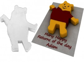 Winnie The pooh  Shape Novelty Cake Tin Baking Pan Birthday