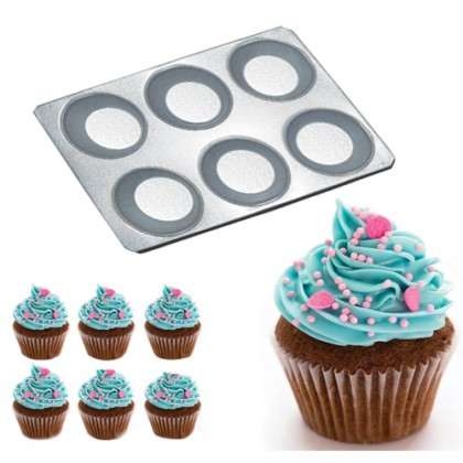 6 Cups Muffin Tray Yorkshire Pudding Tray Cupcake Tray cupcake mould tins pan