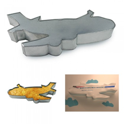 Aeroplane Shape Cake Tin Pan for Birthday Novelty Fun Cake Mould