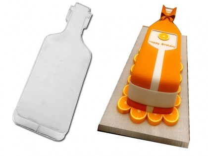 Bottle Shape Novelty Cake Tin Baking Pan Birthday