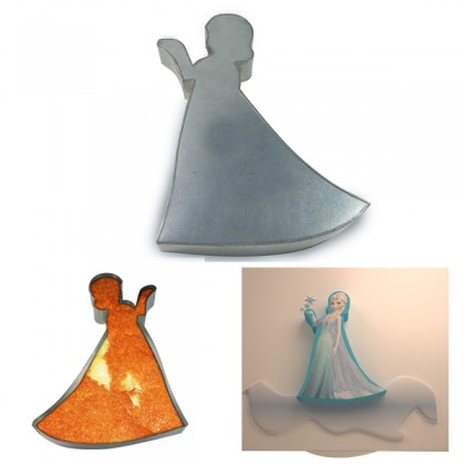 Elsa Shape Cake Tin Pan for Birthday Novelty Fun Cake Mould