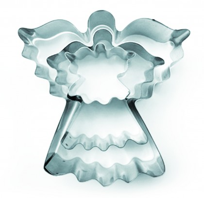 "Set of 3 Fairy Cake Cookie Cutter - 1"" deep"