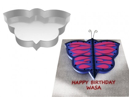 Butterfly  Shape Novelty Cake Tin Baking Pan Birthday