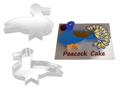 Peacock  Shape Novelty Cake Tin Baking Pan Birthday