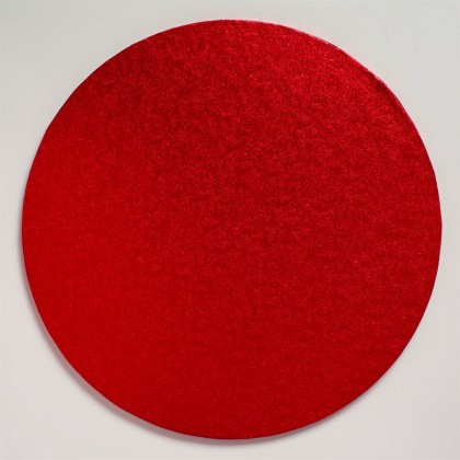 Cake drum Board Round Red--12'' (304mm)