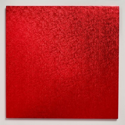 Cake drum Board Square Red- 12'' (304mm)