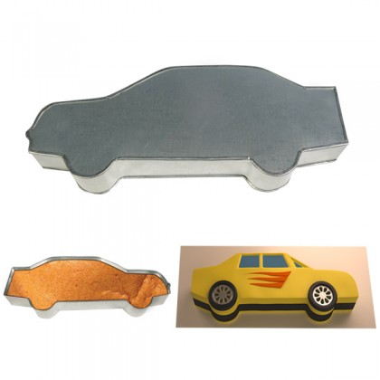 Sports Car Shape Cake Tin Pan for Birthday Novelty Fun Cake Mould