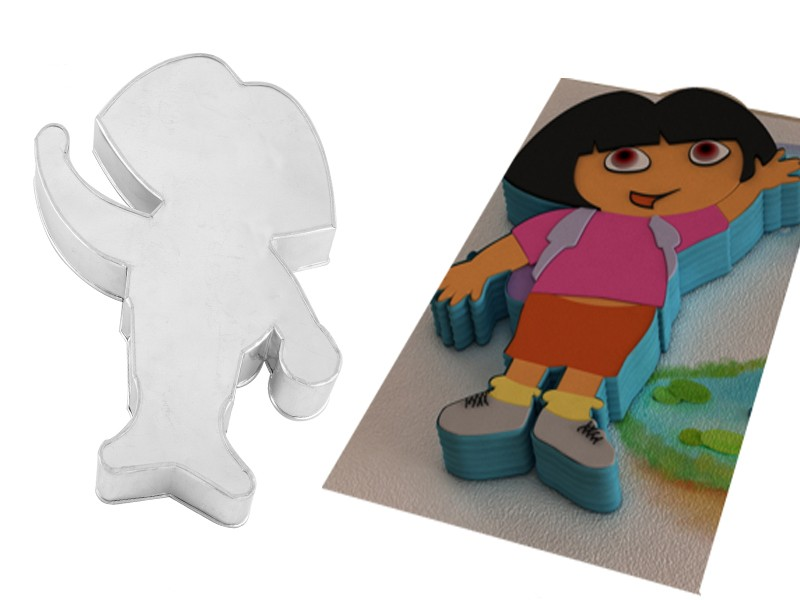 Dora Shape Novelty Cake Tin Baking Pan Birthday